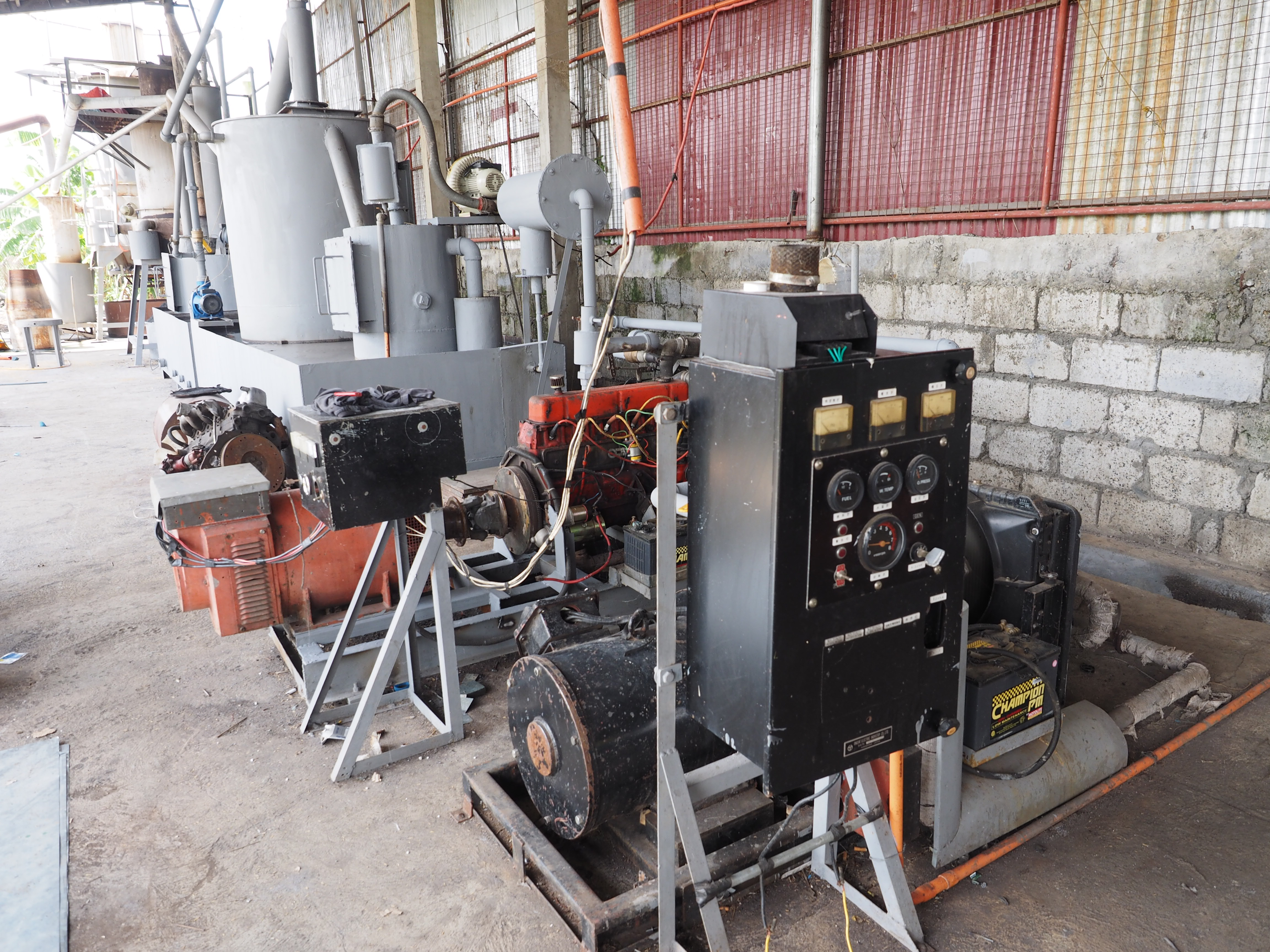 Electrical Conversion from Gasifier